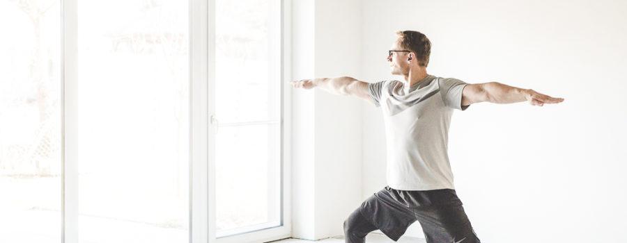 GERALD HOFFMANN Yoga-Lehrer